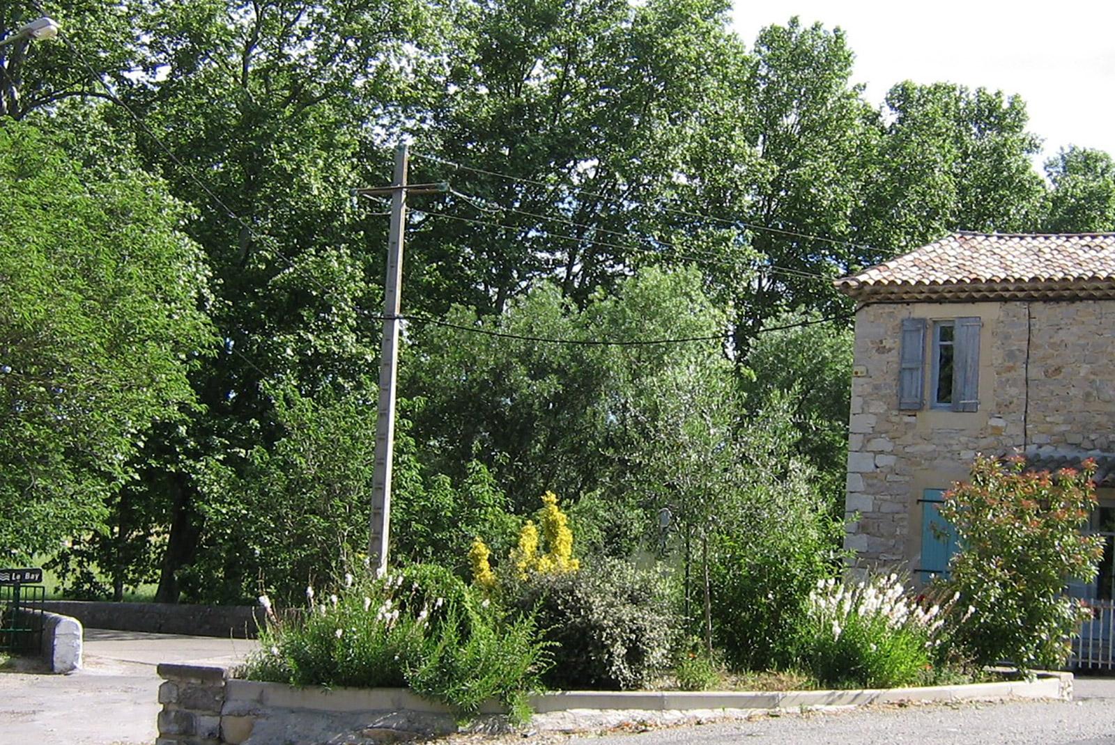 Village de Logrian-Florian dans le Gard